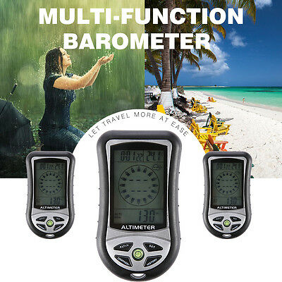 8 In 1 Multi Function Digital Lcd Compass Altimeter Barometer Weather Forecast