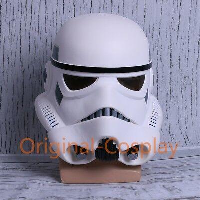 Star Wars Helmet Cosplay The Black Series Imperial Stormtrooper Helmet Halloween