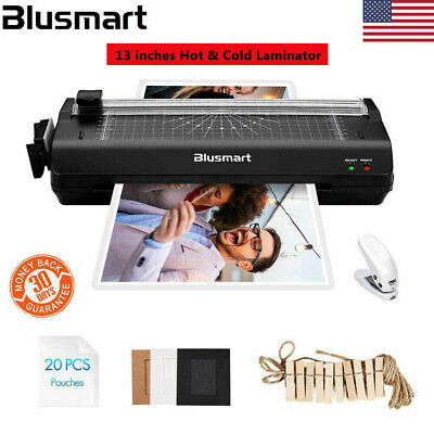 Multi-function Hot Cold Laminator Paper Cutter For A3 A4 A5 A6 20 Pouches Us