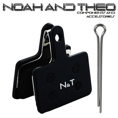 N&t Shimano Br M486 M495 M505 M506 M515 M515LA Semi Metálico Pastillas...