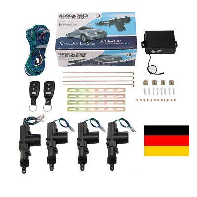 Plug/&Play Funkfernbedienung mit 2 Chrom Sender passgenau für VW Polo 6N