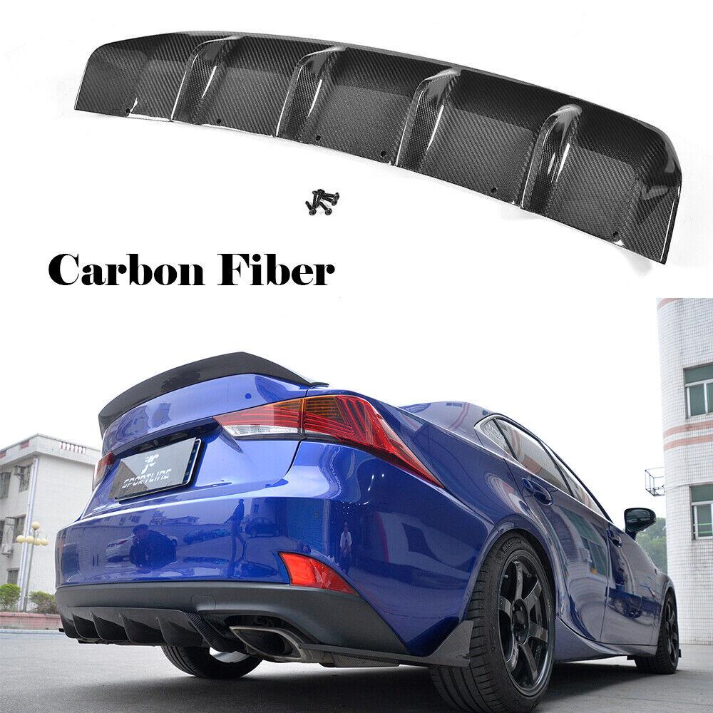 Rear Bumper Splitter Factory For LEXUS Base F Sport Sedan 17-18 Carbon Fiber