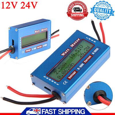 Digital Dc Combo Meter Lcd Watt Power Volt Amp Rc Battery Charging Analyzer