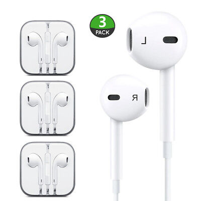 3 Have had it New Headphones Earphones With Remote & Mic For Apple iPhone 6S 6 5 5S 4S