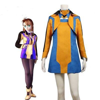 Free Shipping Cosplay Costume XenoSaga I Shion Uzuki Vector Dress Halloween](Vector Costume)