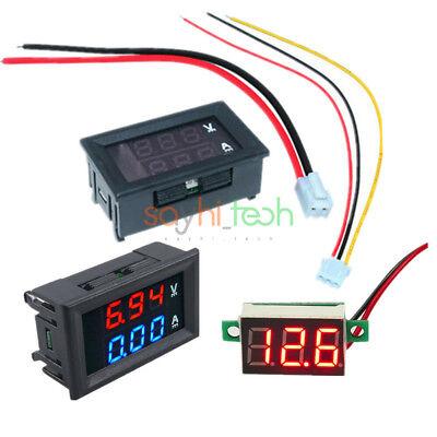 Digital Dual Led Display 10a 100v Ammeter Voltmeter 0.36 Led Voltage Meter