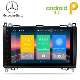 BMW Mercedes Volkswagon 9 inch Android Car Stereo GPS Navigation USB SD BT Aux Radio £249.99