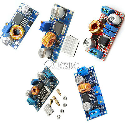 5a Xl4015 Dc-dc Step Down Buck Converter Module Power Supply Led Lithium Charger