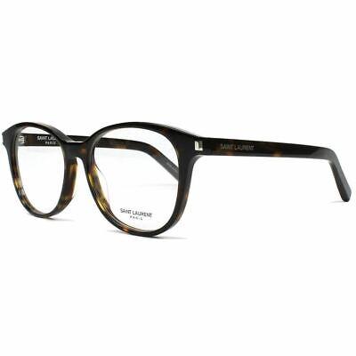 New Authentic Saint Laurent Oval Unisex Eyeglasses W/Demo Lens Classic 9 (Ysl Reading Glasses)