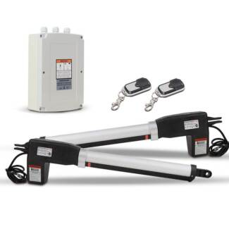 Automatic 2 Arm Swing Gate Opener with 3 Remote Controls