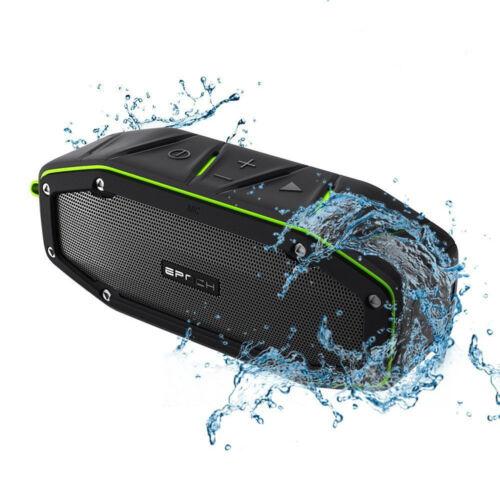 20w Rugged Portable Waterproof Bluetooth Speaker w Bumping Bass Mini Speakers