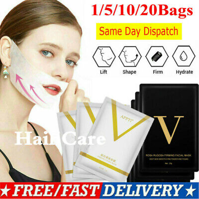 4D Double V-shaped Facial Mask Tension Face Slimming Lifting Thin Beauty (V Shaped Face)