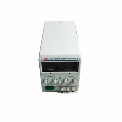 Mastech Hy6003d Dc Power Supply 60v 3a Variable Regulated Linear Loud Fan Asis