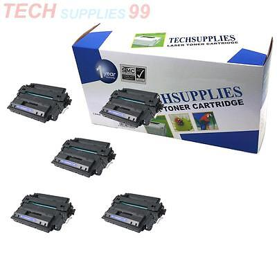 For HP LaserJet P3015 5 Pack CE255X 55X Toner Cartridge