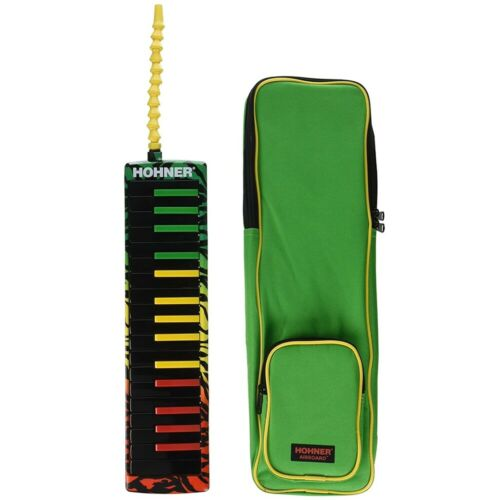 Hohner Airboard 32 Key Rasta Melodica w/case