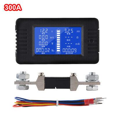 300a Dc Digital Monitor Lcd Volt Watt Meter Battery Solar Power Analyser Bi1343