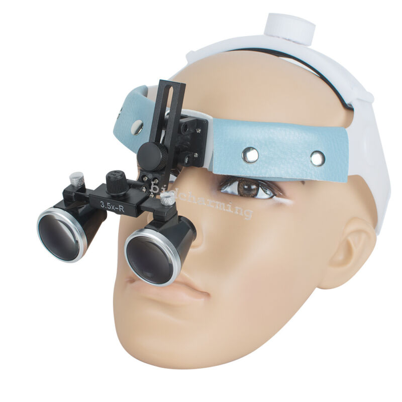 Dental Surgical Medical Binocular Loupes 3.5x-R Surgery Optical Glass Magnifying