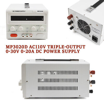 Dc Power Supply0-30v 0-20a Variable Dc Bench Power Supply Regulated Bench Power