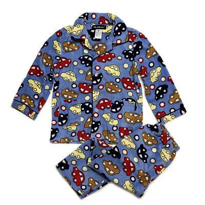 (NEW Kids Pajamas boys Fleece Sleepwear boys Long Sleeve PJ Set Flannel Warm )