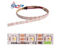SK6812 5050 RGBW+WW Strip LED Lights SMD 60LED/M IC Individual Addressable DC 5v