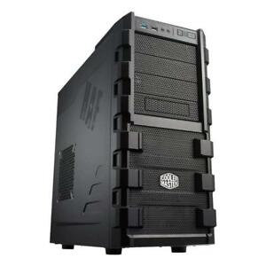 NEW Cooler MasCooler Master RC-912-KKN1-GP HAF Series 912 Mid Tower Computer Case Condition: New