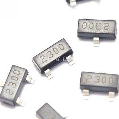 20pcs Si2300 2300 Sot-23 N-channel 30-vd-s Mosfet Smd Transistor