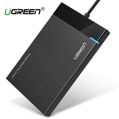 UGREEN USB 3.0 Festplattengehäuse 2,5 Zoll SATA Externes Gehäuse Festplatte Case