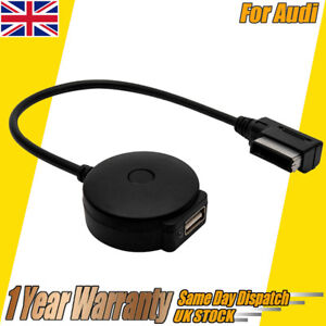 UK Wireless Interface Bluetooth Music Adapter USB Charger For  VW Audi