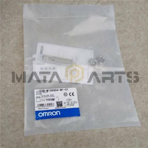 1PC New Omron Proximity Switch E2B-M12KS04-M1-C1