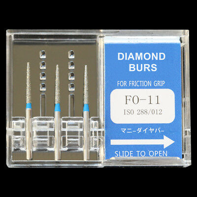 Japan Mani Fo-11 Dia-burs For Dental High Speed Handpiece Diamond Burs Fg 1.6mm