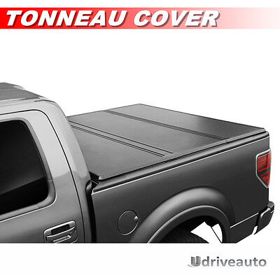 Lock Tri Fold Hard Solid Tonneau Cover For 2005 2016 Frontier 5Ft   60In Bed