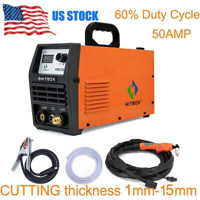 Air Plasma Cutter Hbc5500 Cutting Machine Digital Igbt Inverter 220v Hf Cutters