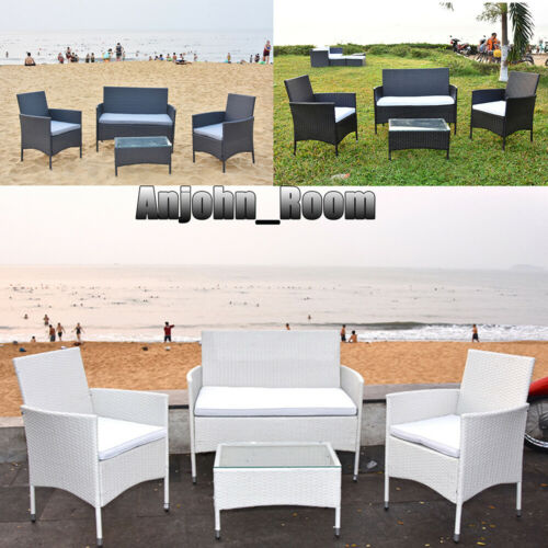 Garden Furniture - Summer Beach Garden Furniture Conservatory Patio Outdoor Table Chairs Sofa Set