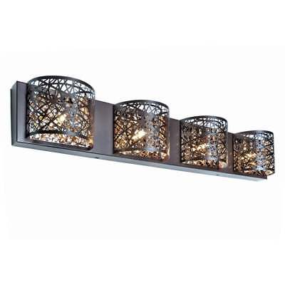 (Modern Bathroom Lighting Wall Fixture Inca Collection Bath Vanity Sconce Light)