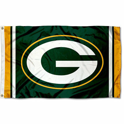 Green Bay Packers Large Outdoor GB NFL 3 x 5 Banner Flag](Green Bay Packers Flag)