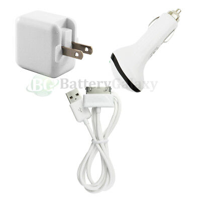 "Charger+USB Cable+Car for Android Samsung Galaxy Tab 1 2 Plus 7.0 10.1"" 800+S0LD"