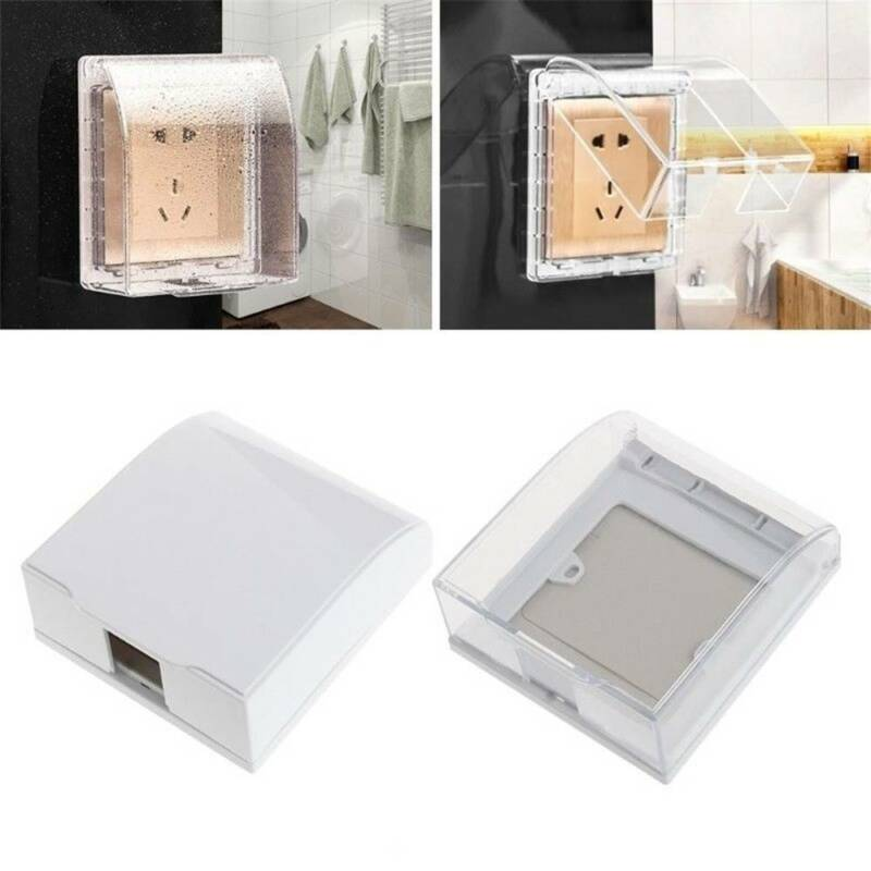 Universal Waterproof 86 Type Wall Socket Plate Panel Switch Box Cover Prote New