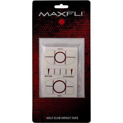 Maxfli Golf Club Swing Impact Tape