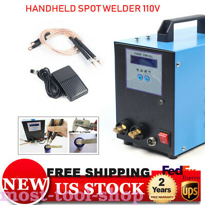 High-power Handheld Spot Welder W Battery Welding Machine 5kw Us Plug