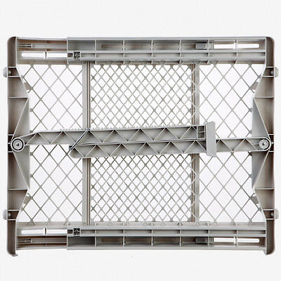 North States Top-Notch Plastic Pressure Mounted Baby Gate Pet Safety Gate | 8699