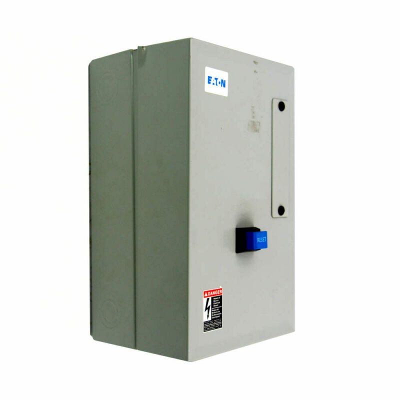Eaton ECN0511BAA-R63/C NEMA Non-Reversing Magnetic Motor Starter 240VAC 4 to 20A