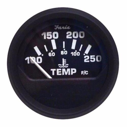Faria Euro Water Temperature Gauge 100Á - 250Á F 12812 MD