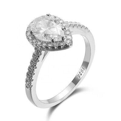 Bague en silver 925 plaqué or blanc/rose avec diamant