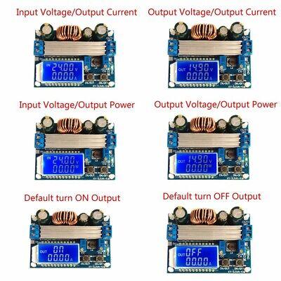 Step Up Down Boost Buck Voltage Regulator Power Supply Lcd Digital Display