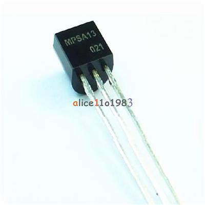 50pcs Mpsa13 Npn 0.5a30v To-92 Darlington Transistor Npn 0.5a30v To-92