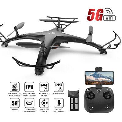 GPS RC drone with camera 1080P 5G wifi FPV quadcopter DE24 sui generis design A+ gift