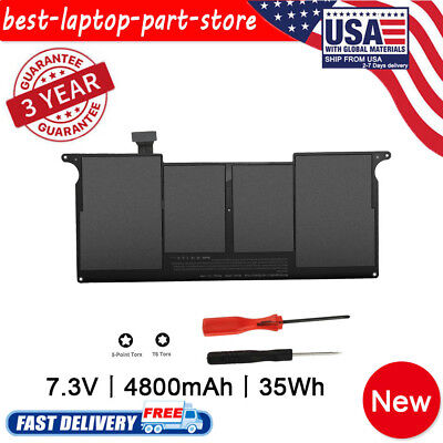 Replacement A1406 Battery 4800Ah for Apple 11 inch MacBook Air A1465 A1370 A1495