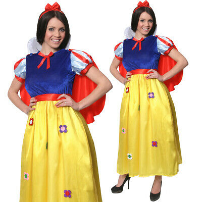 OMENS WORLD BOOK DAY TEACHER FANCY DRESS OUTFIT PRINCESS (Womens Snow White Kostüme)