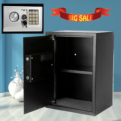 Extra Large Heavy Duty Digital Safe Box Gun Cash Jewelry Home Security Keypad US