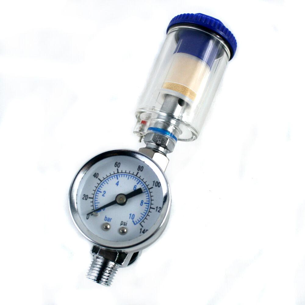 Scratch Doctor Mini Air Pressure Regulator Gauge Amp In Line
